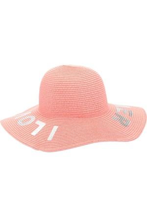 DeFacto Kız Çocuk Baskılı Şapka Pembe