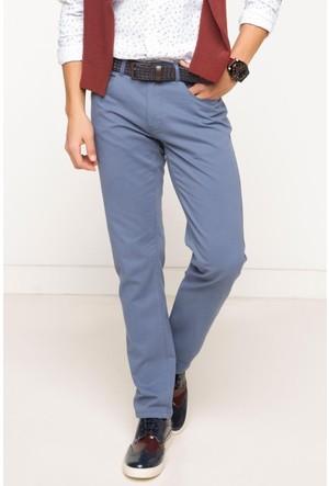 DeFacto Erkek Basic 5 Cep Gabardin Pantolon İndigo