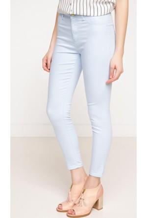 DeFacto Kadın Süper Skinny Pantolon Açık Mavi