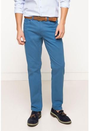 DeFacto Erkek Basic 5 Cep Gabardin Pantolon Koyu Mavi