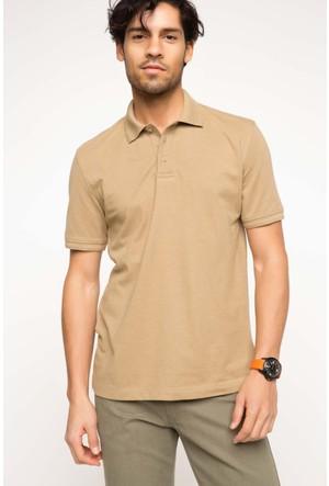 DeFacto Erkek Basic Polo T-Shirt Kum