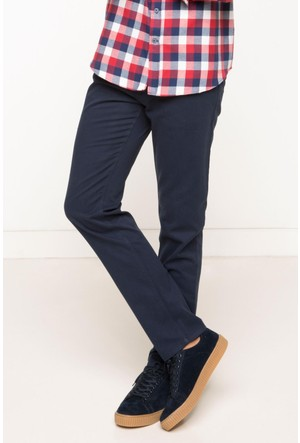 DeFacto Erkek Basic 5 Cep Gabardin Pantolon Lacivert