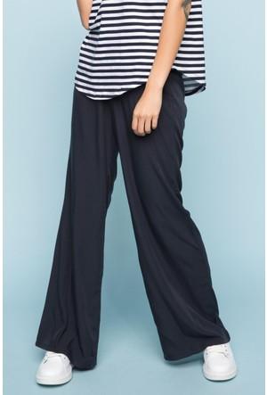 DeFacto Kadın Palazzo Yüksek Bel Pantolon Lacivert