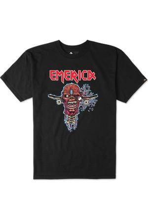 Emerica Heavy Metal Black Erkek T-Shirt
