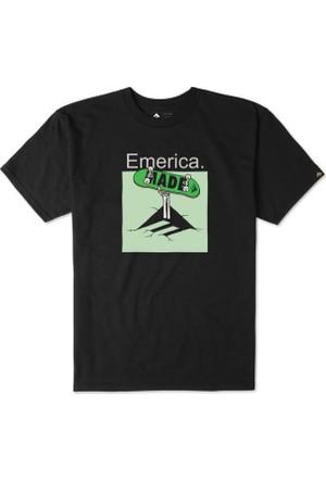 Emerica Skeleton Crew Black Erkek T-Shirt