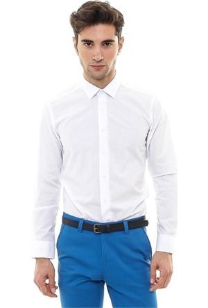 Wss Wessi Düz Beyaz Pamuklu Gömlek