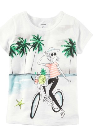 Carter's Küçük Kız Çocuk T-Shirt 253G909