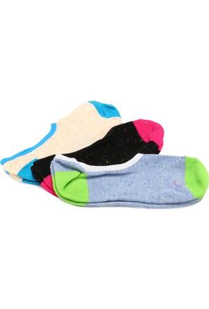 Vans Charter Away Canoodles 3 Neon Yeşil Mavi Kadın Çorap