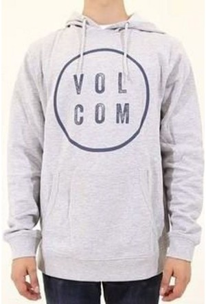 Volcom Daıly Po Flc Heather Grey Sweatshırt