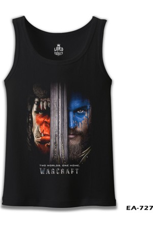 Lord T-Shirt Warcraft - Two Worlds One Home T-Shirt