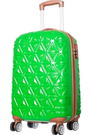 Ççs Polycarbonate Kabin Boy Ççs5147 Valiz - S Yeşil