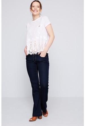 U.S. Polo Assn. Raya Kadın Denim Pantolon