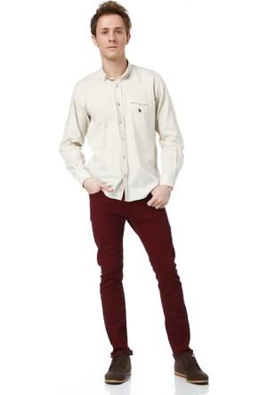 Dewberry G615 Erkek Gömlek Bej