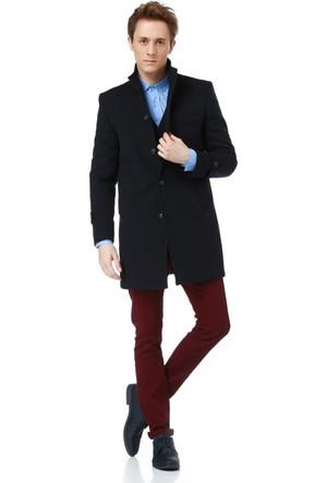 Dewberry Plt8315 Erkek Palto Lacivert