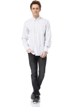 Dewberry G617 Erkek Gömlek Beyaz