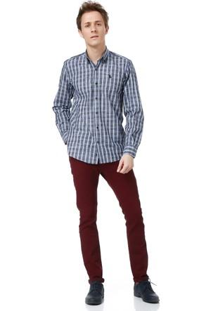 Dewberry G620 Erkek Gömlek Mavi