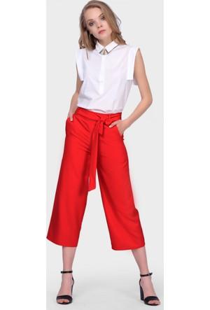 İroni Kırmızı Jogger Pantolon