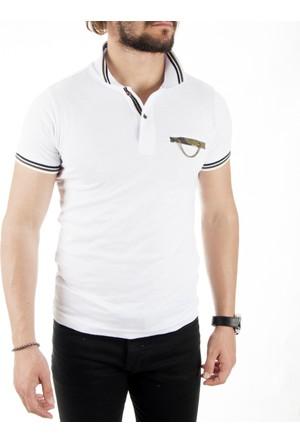 Deepsea Beyaz Erkek Tişört 1717367-001