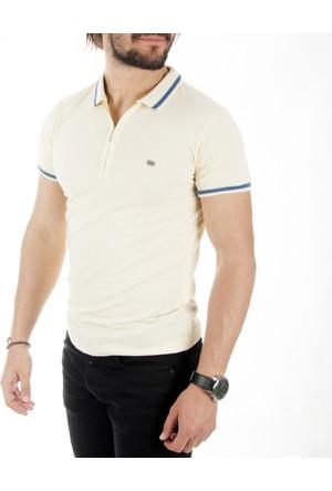 Deepsea Sarı Polo Yaka Erkek Tişört 1717358-015