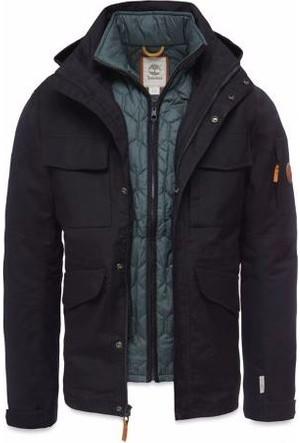 Timberland Black A1Aıf001 Dv 3İn1 Field Jacket Mont