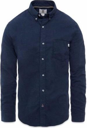 Timberland Dark Sapphır A1B5G475 Ls Slim Flann Heath Shirt Gömlek