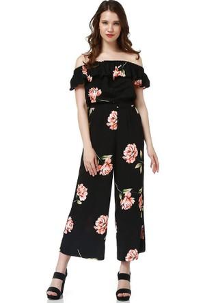 Bsl Fashion Pembe Tulum 9304