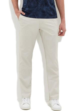 Mavi Erkek Bej Chino Pantolon