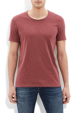 Mavi Erkek Bordo T-Shirt