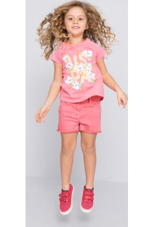 U.S. Polo Assn. Vala Kız Çocuk T-Shirt