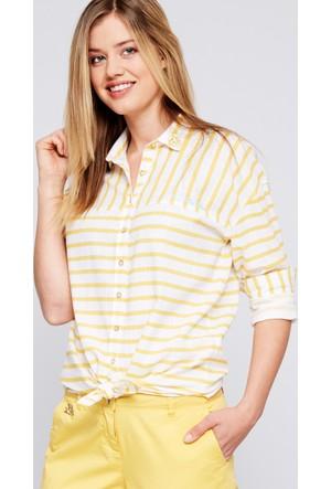 U.S. Polo Assn. Olty Kadın Dokuma Gömlek
