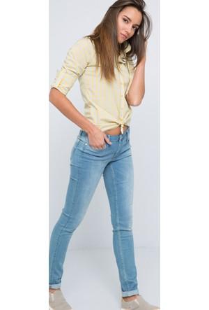 U.S. Polo Assn. Emesto Kadın Dokuma Gömlek