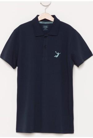 DeFacto Erkek Çocuk Basic Polo T-Shirt Lacivert