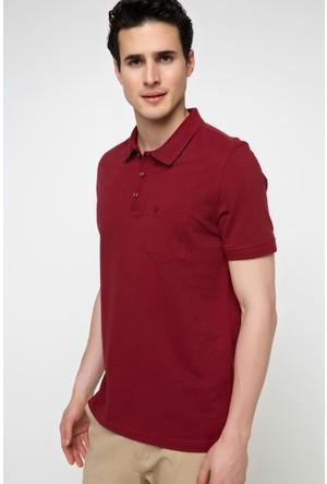 DeFacto Erkek Polo T-Shirt Bordo