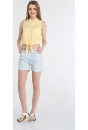 Collezione Kadın Gömlek Kısa Kol Matel