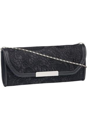 Graceland Kadın Clutch El Çantası Siyah