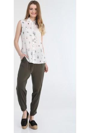 Collezione Kadın Gömlek Kısa Kol Maprus
