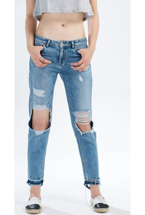 LTB Eliana Never Blue Wash Pantolon