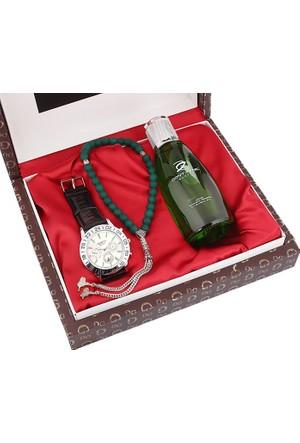 Geneva Ap 1921 Saat Parfüm Ve Tesbih Seti