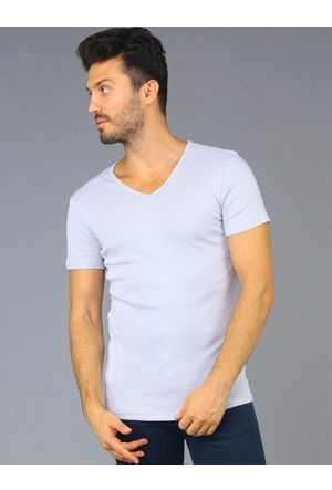 Twister Jeans Ets 1201 Gri Erkek T-Shirt