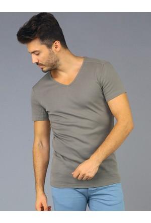 Twister Jeans Ets 1201 Haki Erkek T-Shirt