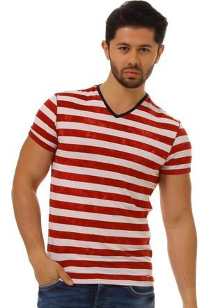 Twister Jeans Ets 1002 Kırmızı Erkek T-Shirt