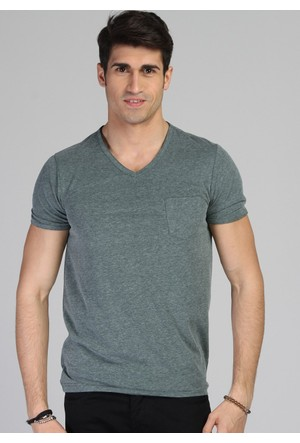 Twister Jeans Ets 1505 Haki Erkek T-Shirt