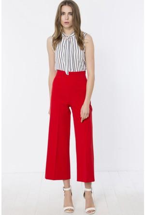 Heva Yüksek Belli Bol Paçalı Pantolon