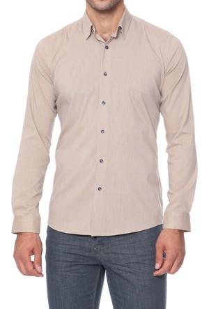 Efor G 1253 Cepsiz Düğmeli Spor Yakalı Erkek Gömlek G1253V0817