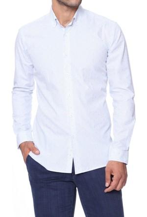 Efor GK 455 Cepsiz Düğmeli Spor Yakalı Erkek Gömlek GK455V0817