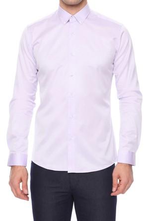 Efor GK 456 Cepsiz Düğmeli Spor Yakalı Erkek Gömlek GK456V0917