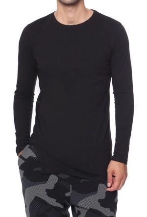 Efor TS 661 Bisiklet Yakalı Spor Tarz Erkek Sweat Shirt TS661V0817