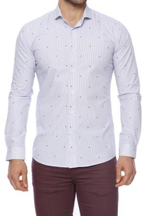 Efor GK 467 Cepsiz İtalyan Yakalı Erkek Gömlek GK467S1117
