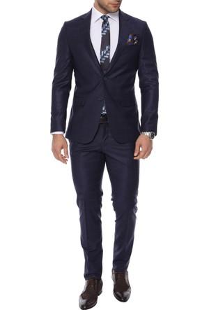 Efor TK 713 Kapaklı Cepli Mono Yakalı Takım Elbise TK713S0217