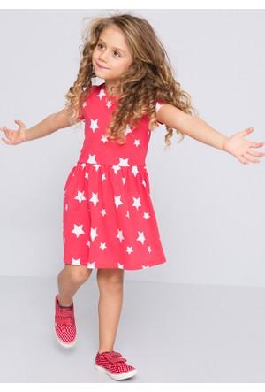 U.S. Polo Assn. Kız Çocuk Goby Elbise Pembe